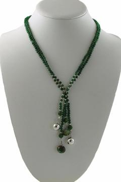 Xuxek Malachite Lariat Necklace - Alternate List Image