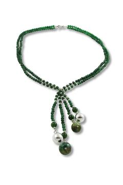 Xuxek Malachite Lariat Necklace - Product List Image