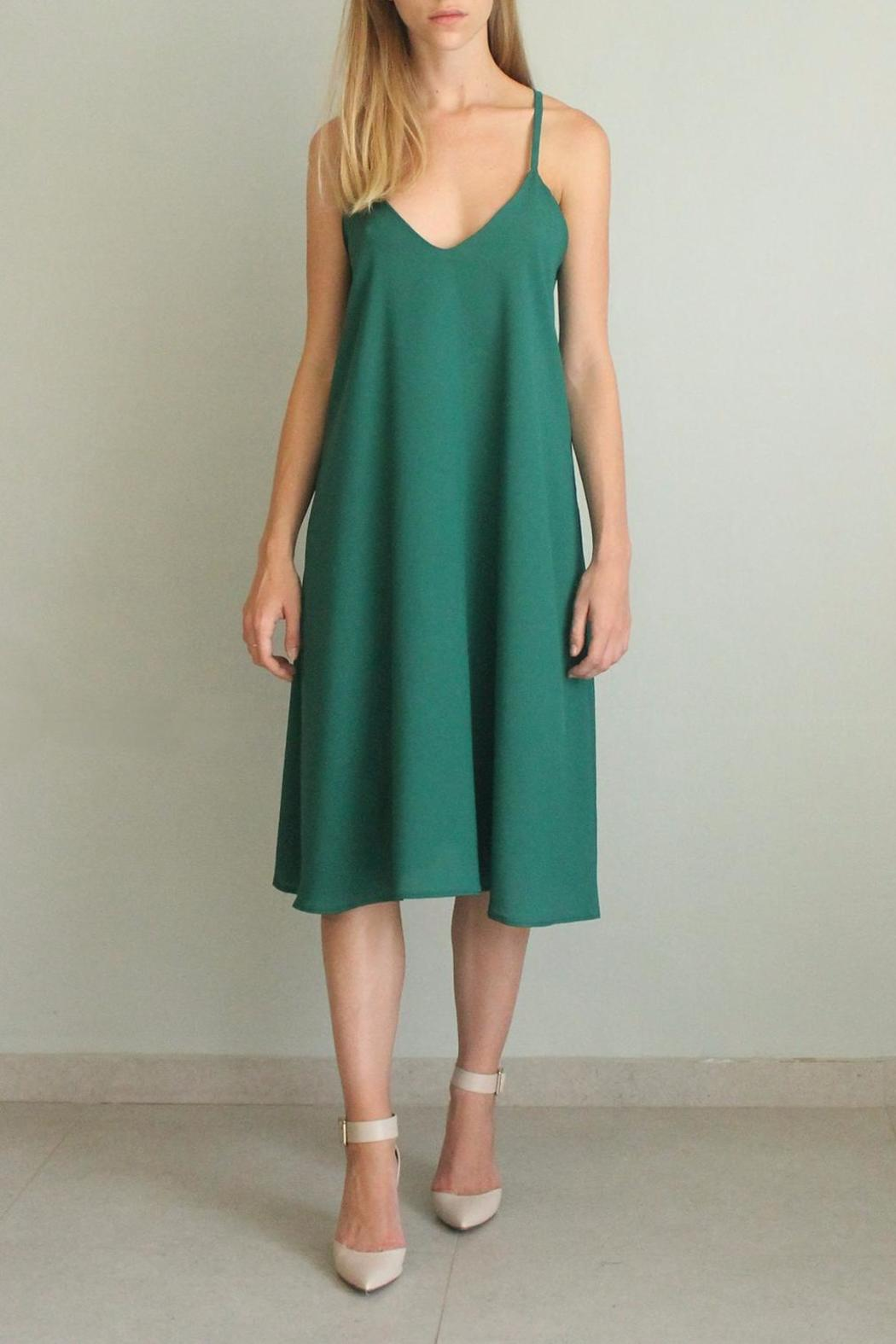 Sharon Guy Fashion Studio Midi Party Dress from Israel by SharonGuy ...