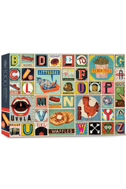 Fred Puzzles XYZ Blocks 1000 Piece Puzzle - Front cropped
