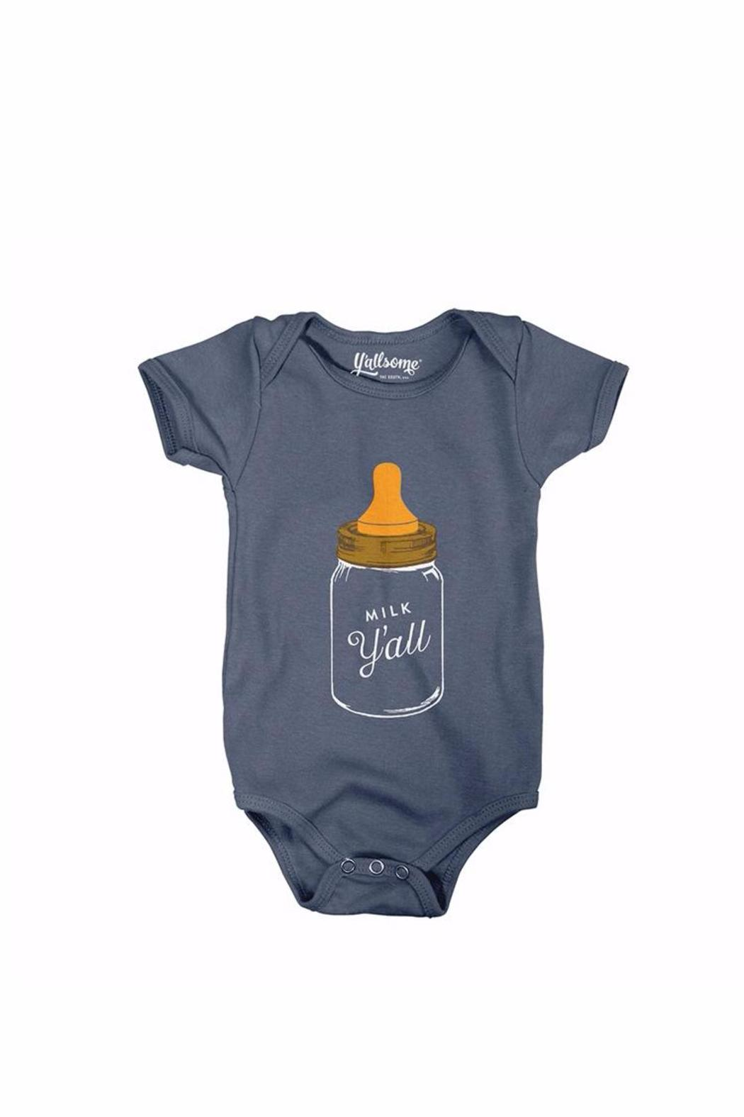 7fb7903ab Y'ALLSOME Milk Y'all Onesie from Kentucky by Gracious Me! — Shoptiques