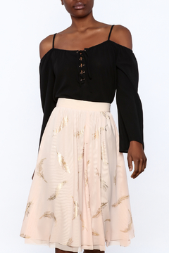 y&i clothing boutique Lightweight Black Boxy Top - Product List Image