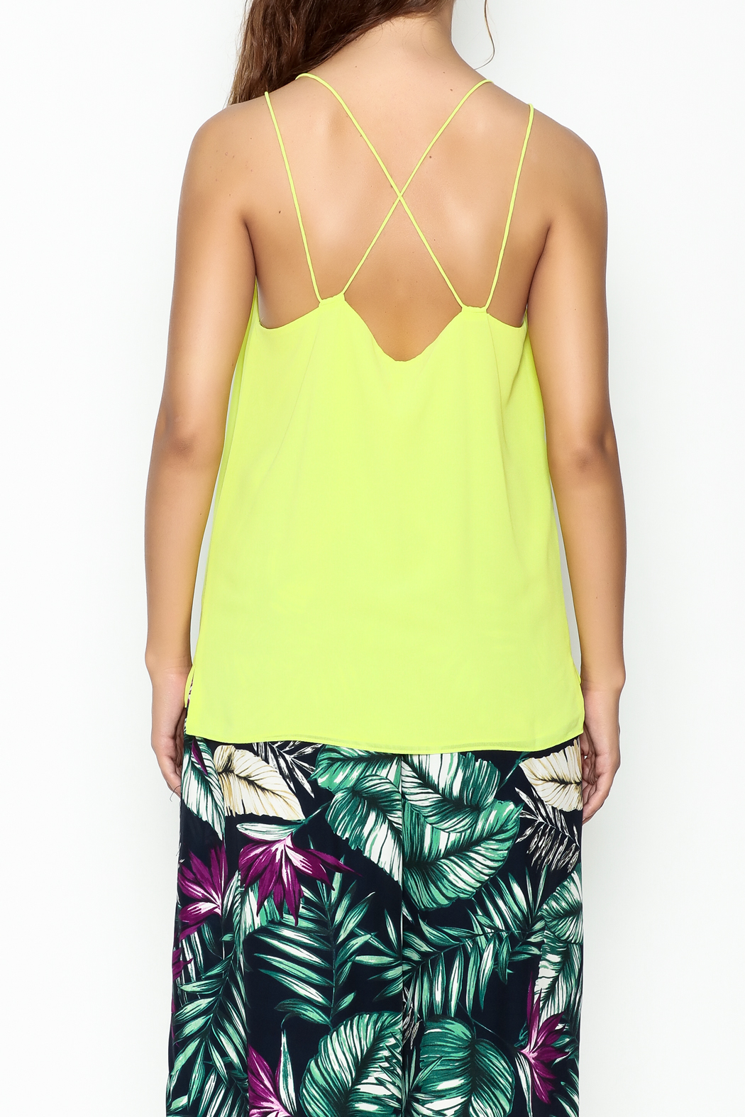y&i clothing boutique Cami Top - Back Cropped Image