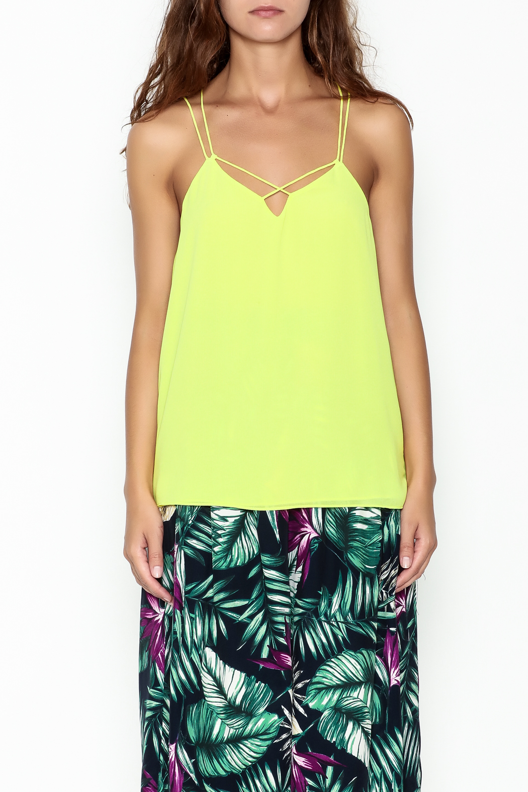 y&i clothing boutique Cami Top - Front Full Image