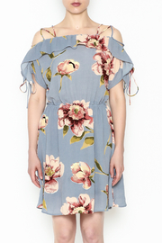 y&i clothing boutique Courtney Floral Dress - Front full body