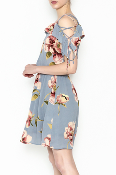 y&i clothing boutique Courtney Floral Dress - Product List Image
