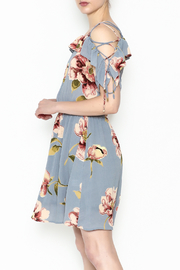 y&i clothing boutique Courtney Floral Dress - Product Mini Image