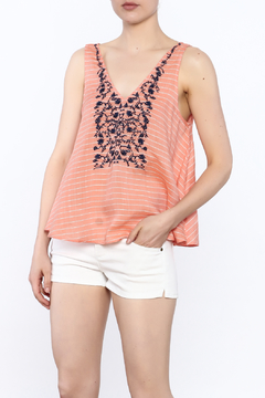Shoptiques Product: Embroidered Swing Tank