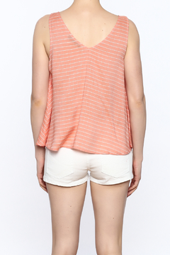 y&i clothing boutique Embroidered Swing Tank - Alternate List Image