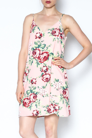 y&i clothing boutique Floral Cami Dress - Front cropped