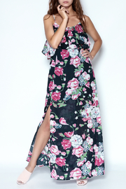 y&i clothing boutique Floral Maxi Dress - Product Mini Image