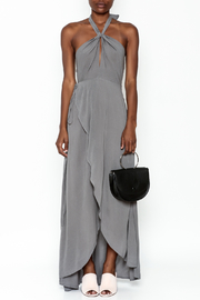 y&i clothing boutique Halter Neck Maxi Dress - Front full body