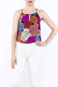 y&i clothing boutique Large Floral Tank - Product List Image