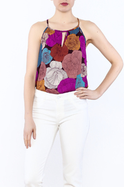 y&i clothing boutique Large Floral Tank - Product Mini Image