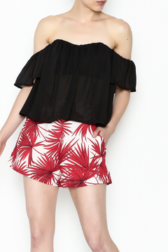Shoptiques Product: Marilyn Off Shoulder Top