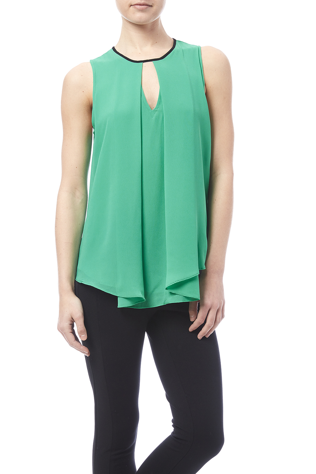 Y i clothing boutique overlap tank from marina shoptiques for Boutique tops