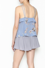 y&i clothing boutique Cross Front Top - Back cropped