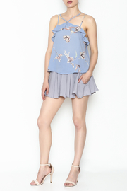 y&i clothing boutique Cross Front Top - Side cropped