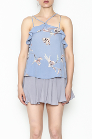y&i clothing boutique Cross Front Top - Front full body