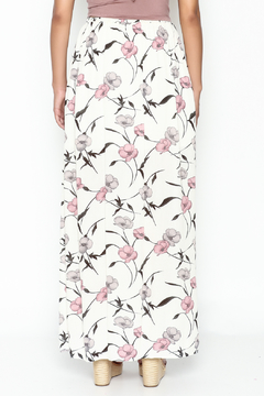 y&i clothing boutique Spaced Floral Maxi Skirt - Alternate List Image
