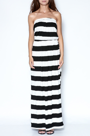 y&i clothing boutique Strapless Striped Maxi Dress - Product Mini Image