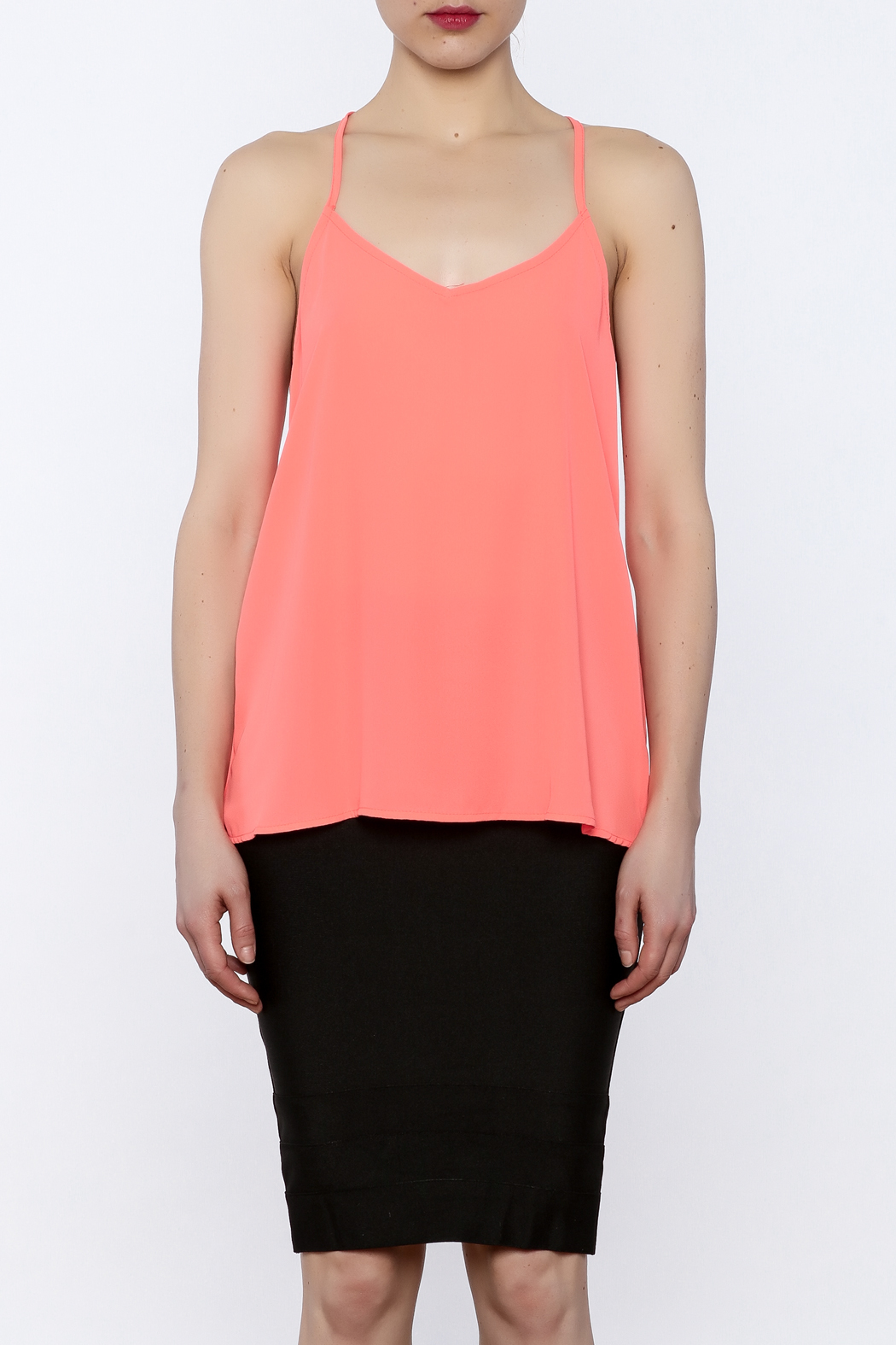 Y i clothing boutique twist back cami from marina shoptiques for Boutique tops