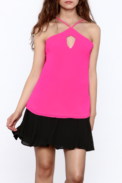 y&i clothing boutique Y Neck Halter Top - Product List Image