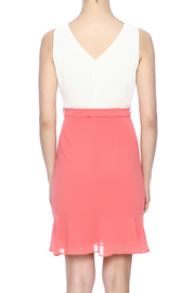 Ya Los Angeles Coral Embroidered Dress - Back cropped
