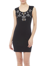 Ya Los Angeles Black Jeweled Dress - Product Mini Image