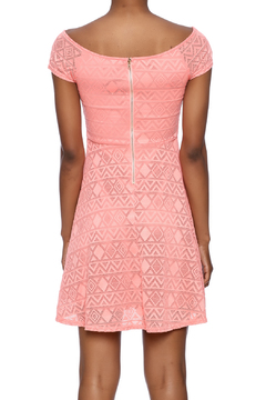 Ya Los Angeles Coral Skater Dress - Alternate List Image