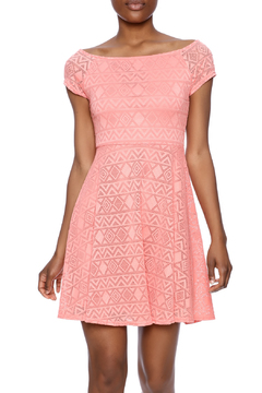Ya Los Angeles Coral Skater Dress - Product List Image