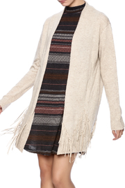 Ya Los Angeles Fringe Cardigan - Product Mini Image