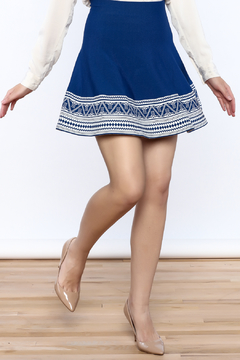 Ya Los Angeles Greek Key Skirt - Product List Image