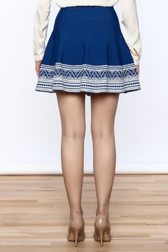 Ya Los Angeles Greek Key Skirt - Alternate List Image