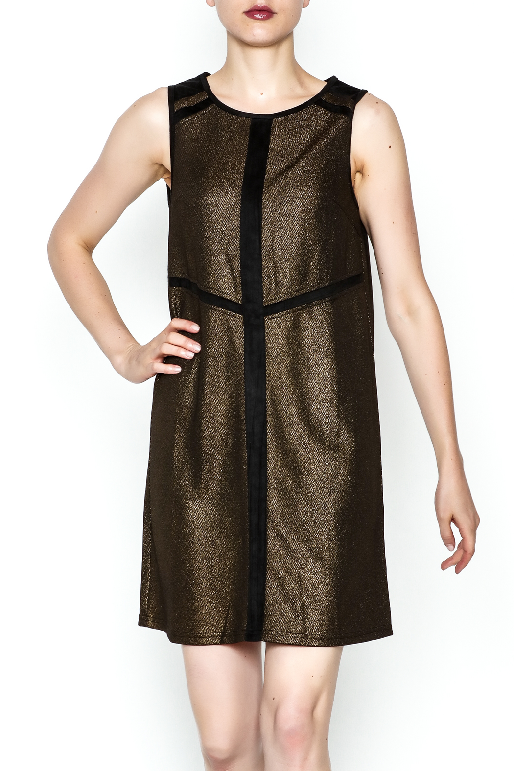 Ya Los Angeles Metallic Shimmer Sheath - Main Image