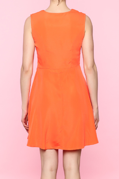 Ya Los Angeles Mod Orange Dress - Alternate List Image