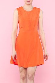 Ya Los Angeles Mod Orange Dress - Product Mini Image