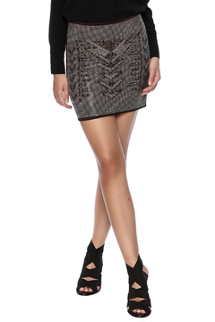 Shoptiques Product: Rhinestone Mini Skirt