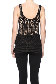 Ya Los Angeles Sparkly Chrissy Top - Back cropped