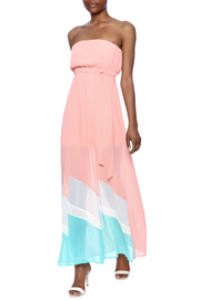 Ya Los Angeles Strapless Maxi Dress - Front full body