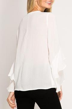 Ya Los Angeles Layered Long Sleeve Blouse - Alternate List Image