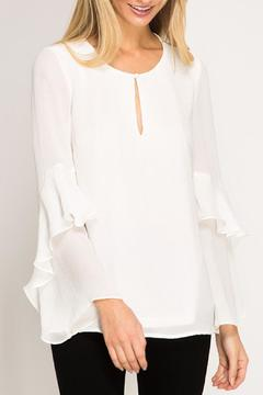 Ya Los Angeles Layered Long Sleeve Blouse - Product List Image