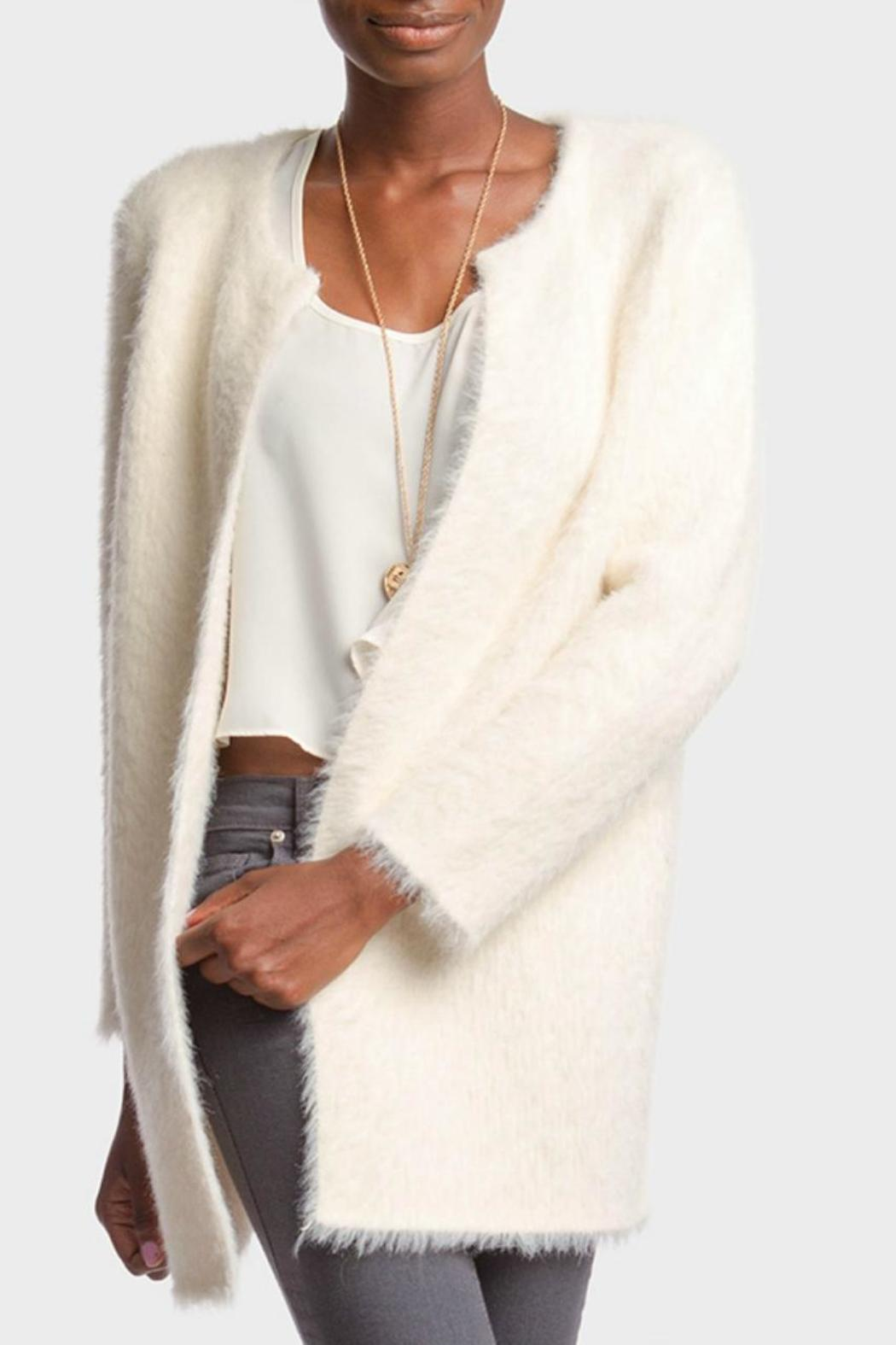 Ya Los Angeles Fluffy Cream Cardigan from Ohio by Lou Lou's ...