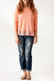Ya Los Angeles Lace Back Top - Front full body