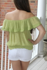Ya Los Angeles Off Shoulder Top - Front full body