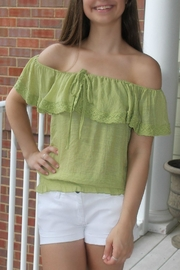 Ya Los Angeles Off Shoulder Top - Product Mini Image