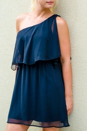 Ya Los Angeles Oneshoulder Ruffle Dress - Product Mini Image
