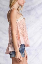 Ya Los Angeles Pink Lace Top - Other
