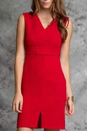 Ya Los Angeles Red Woven Dress - Product Mini Image