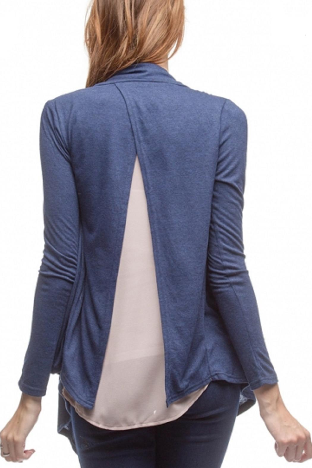 Ya Los Angeles Sheer Back Cardigan from Kansas by Bella Rose ...